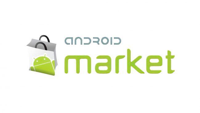 Android Market Logo 2008-2011