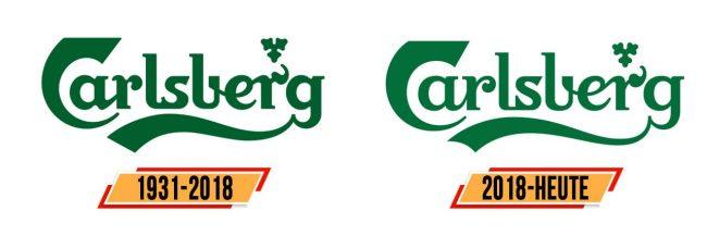 Carlsberg Logo Geschichte