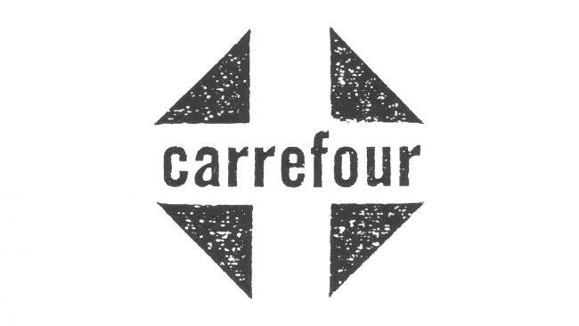 Carrefour Logo 1960-1963