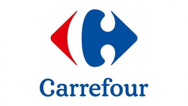 Carrefour Logo 2010-heute