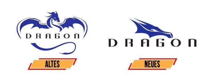 Crew Dragon Logo Geschichte