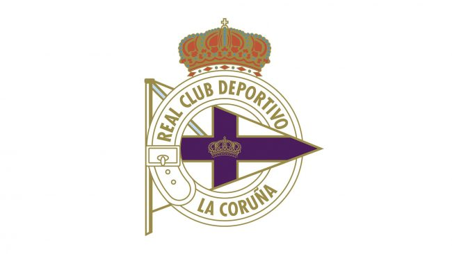 Deportivo La Coruna Logo 1912-1928