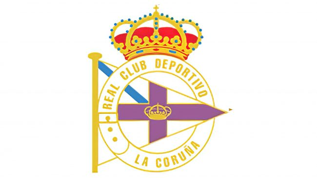 Deportivo La Coruna Logo 1997-2000