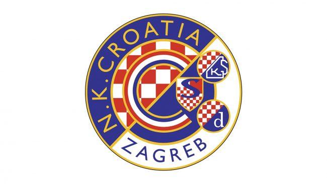 Dynamo Zagreb Logo 1995-2000
