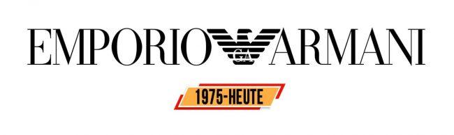 Emporio Armani Logo Geschichte
