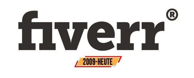 Fiverr Logo Geschichte