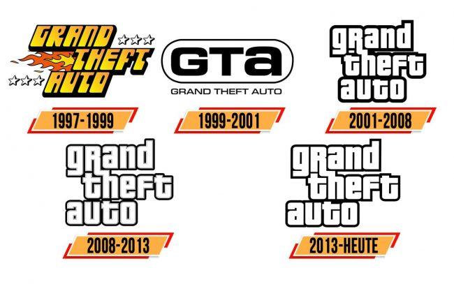 GTA Logo Geschichte
