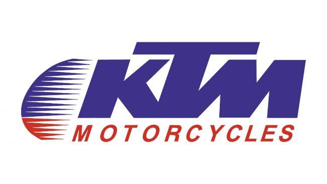 KTM Logo 1992-1996