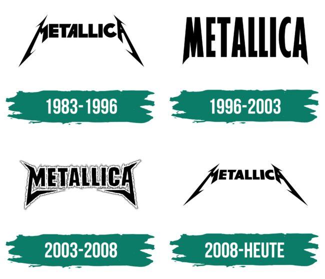 Metallica Logo Geschichte
