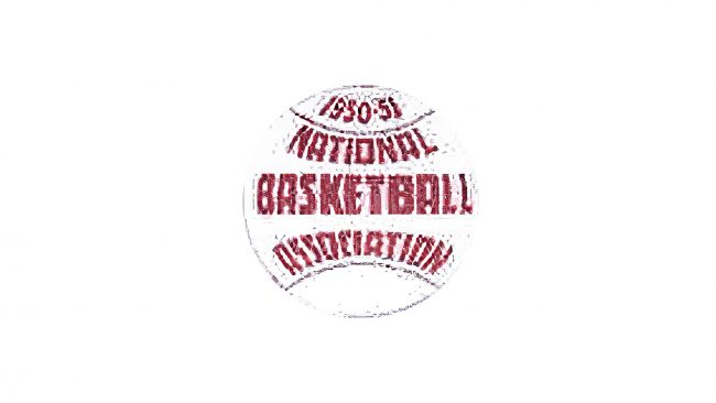 National Basketball Association Logo 1950-1953