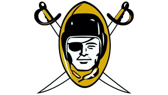 Oakland Raiders Logo 1960-1962