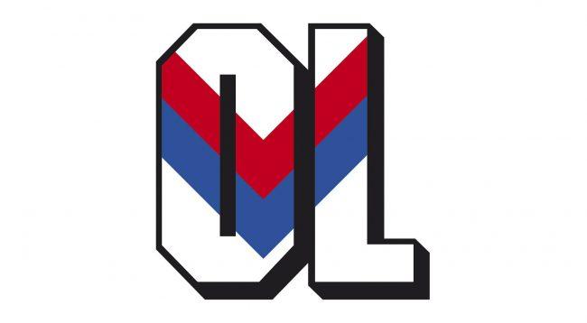 Olympique Lyonnais Logo 1989-1996