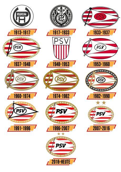 PSV Logo Geschichte