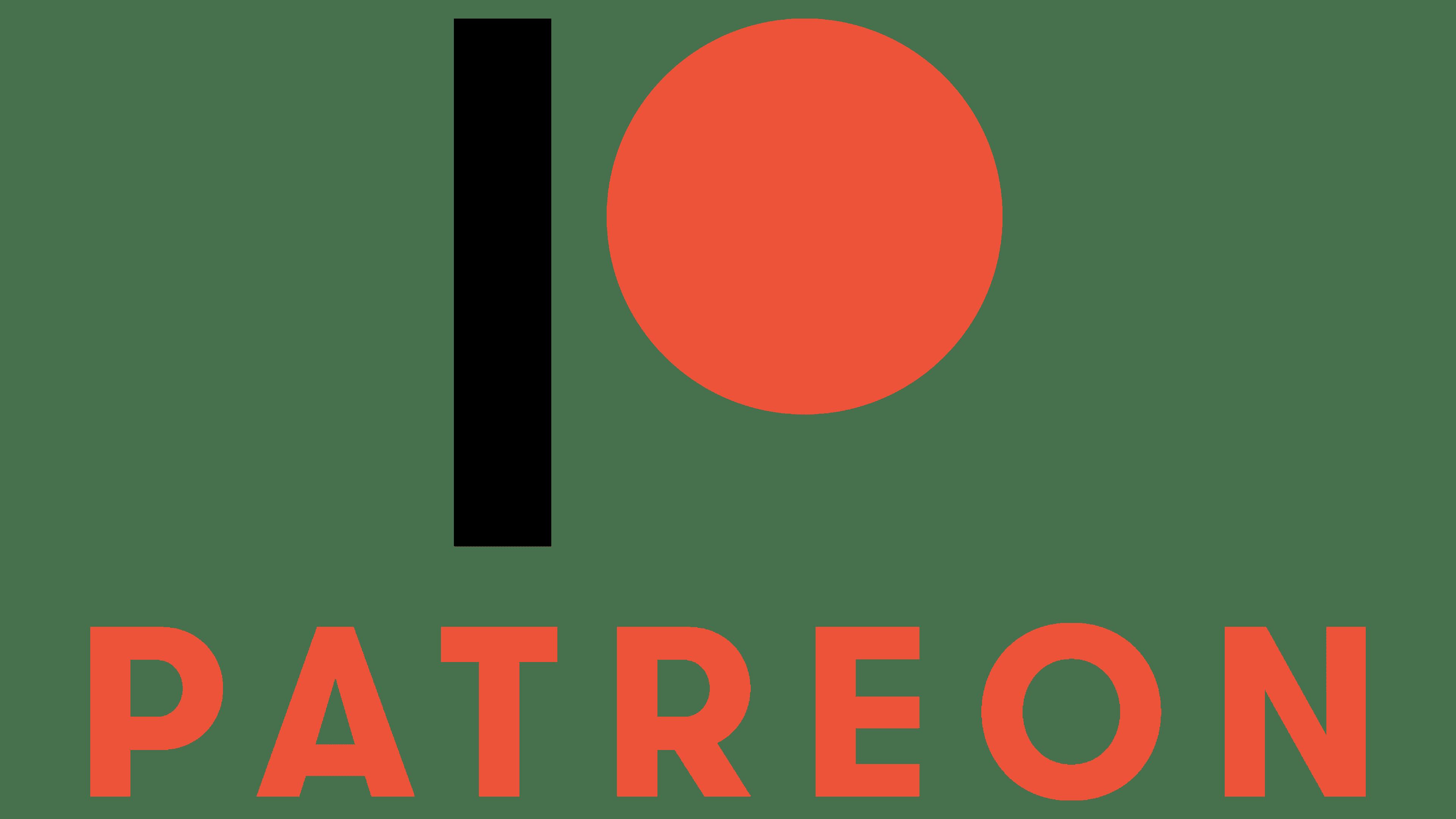 Patreon Logo   Logo, zeichen, emblem, symbol. Geschichte und Bedeutung
