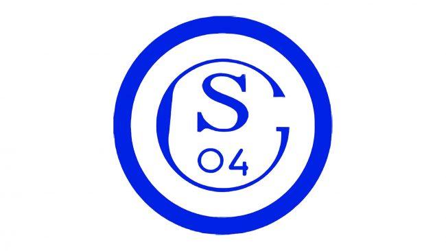 Schalke 04 Logo 1945-1958