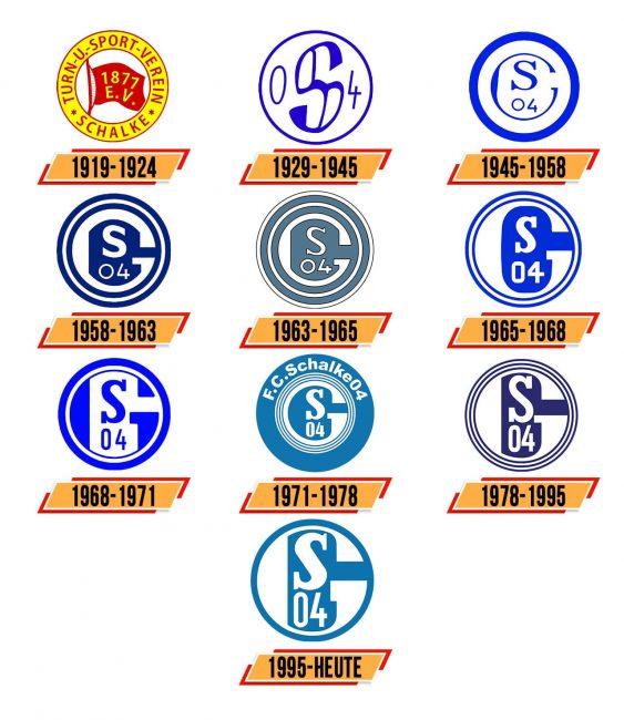 Schalke 04 Logo Geschichte