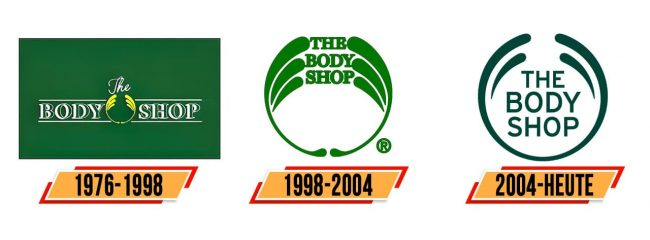 The Body Shop Logo Geschichte