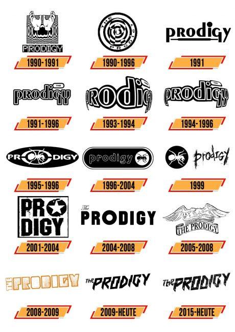 The Prodigy Logo Geschichte