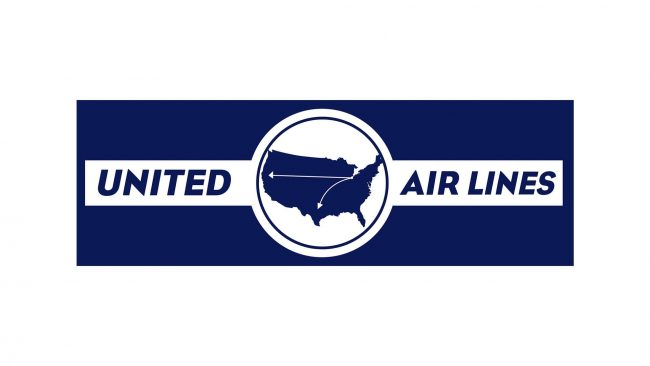 United Airlines Logo 1930-1933