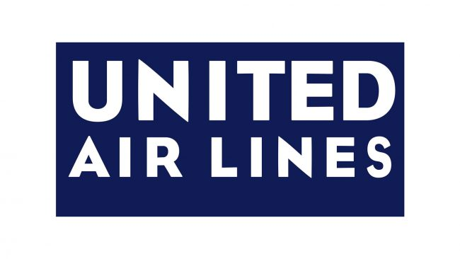 United Airlines Logo 1933-1935