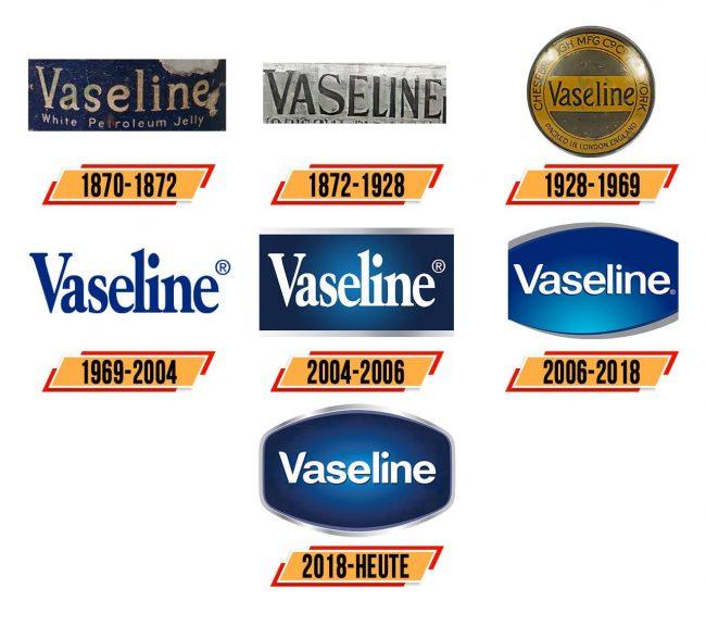 Vaseline Logo Geschichte