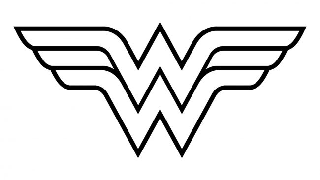 Wonder Woman Logo 1982-heute