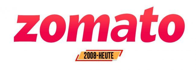 Zomato Logo Geschichte