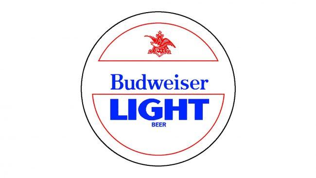 Budweiser Light Logo 1982-1983