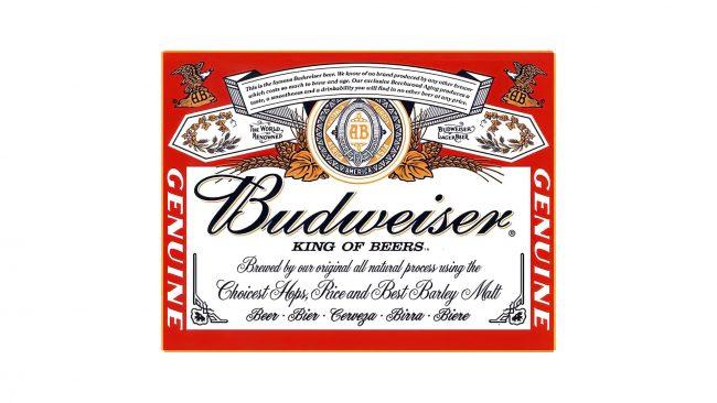 Budweiser Logo 1910-1945