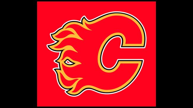 Calgary Flames Zeichen