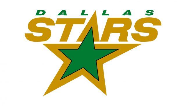 Dallas Stars Logo 1993-1994