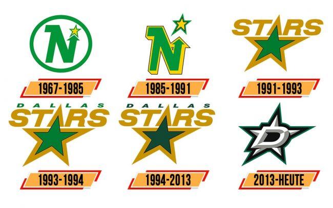 Dallas Stars Logo Geschichte