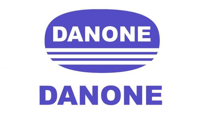 Danone Logo 1968-1972