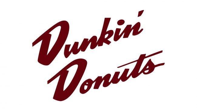 Dunkin' Donuts Logo 1950-1960