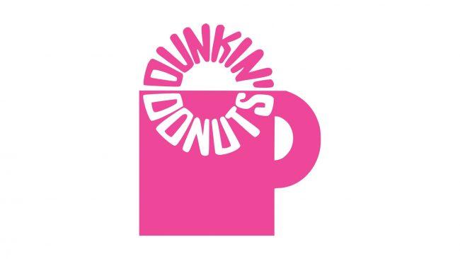 Dunkin' Donuts Logo 1960-1976