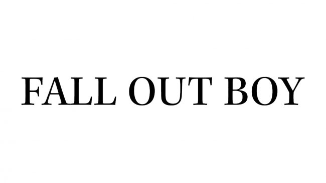 Fall Out Boy Logo 2016-2018
