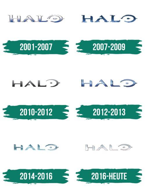 Halo Logo Geschichte