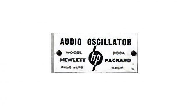 Hewlett-Packard Logo 1939-1954
