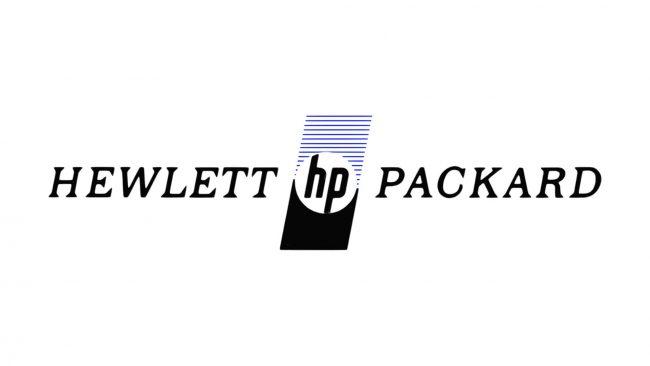 Hewlett-Packard Logo 1974-1981