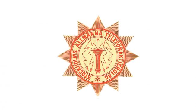 LM Ericsson Logo 1883-1918