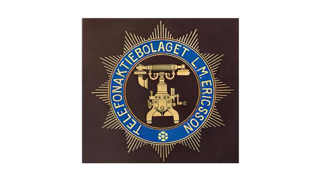 LM Ericsson Logo 1918-1942