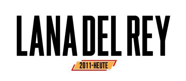 Lana Del Rey Logo Geschichte