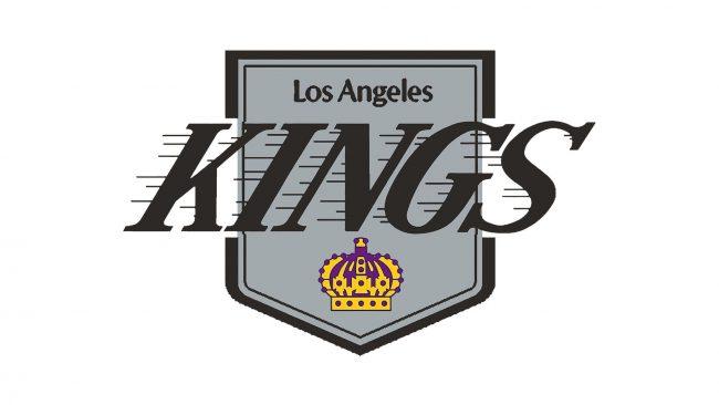Los Angeles Kings Logo 1987-1988