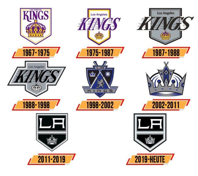Los Angeles Kings Logo Geschichte