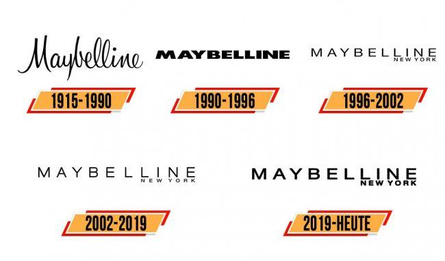 Maybelline Logo Geschichte
