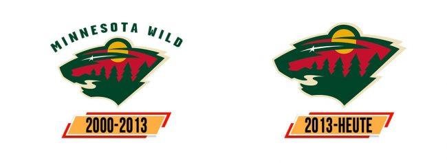 Minnesota Wild Logo Geschichte