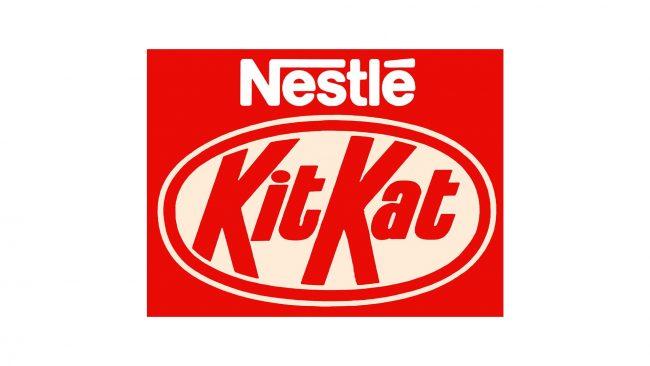 Nestlé Kit Kat Logo 1988-1995