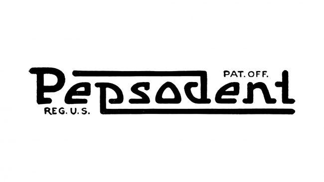 Pepsodent Logo 1901-1948