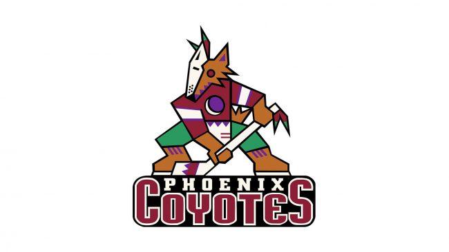 Phoenix Coyotes Logo 1996-1999