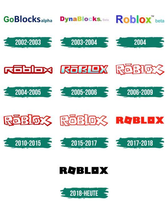 Roblox Logo Geschichte